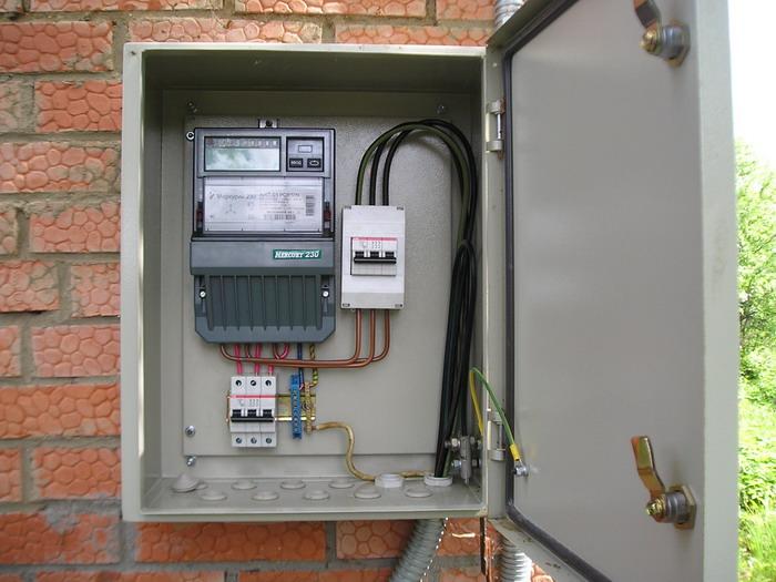 Инструкция по сборке 3-х фазного электрощита